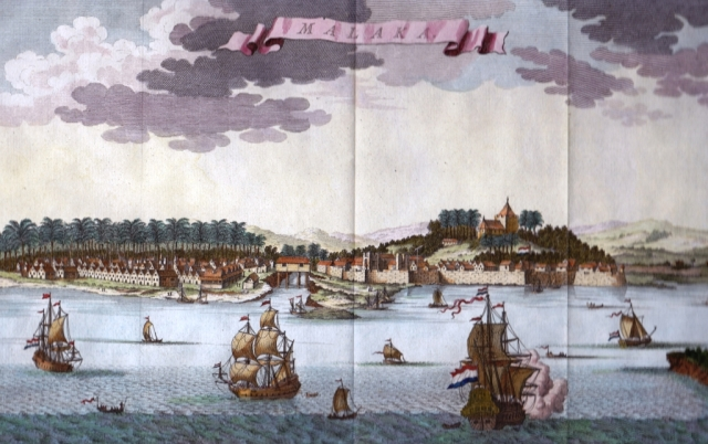 44_Painting of Malacca after its capture by the Dutch - Copy