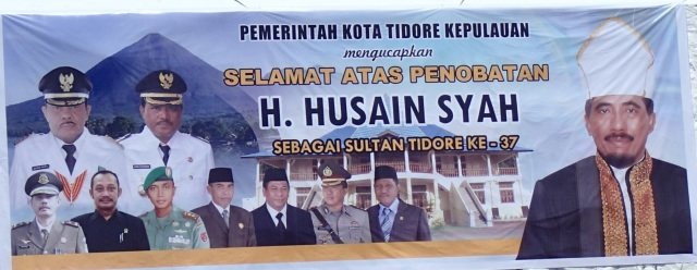 The Coronation of the Sultan of Tidore