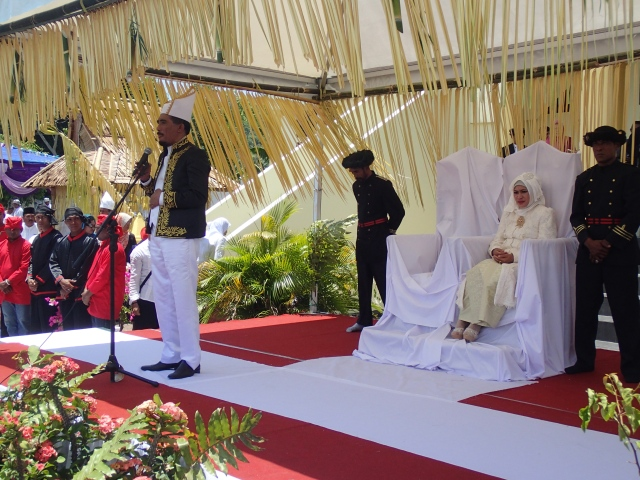 The Sultan of Tidore and his wife