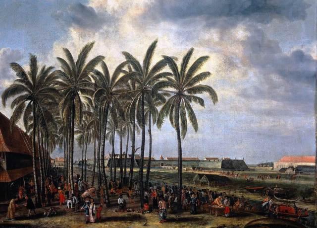 Andries Beeckman 1656 The Kasteel Batavia