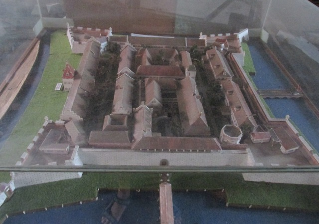 Model of Kasteel Batavia in the Museum Bahari