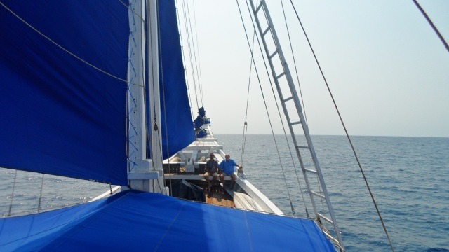 Sailing to the Spice Islands