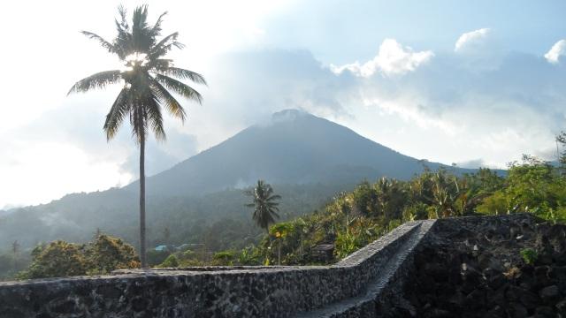 Volcano on Tidore