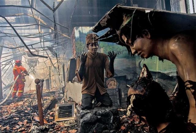 Museum Bahari fire 5
