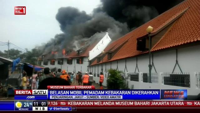Museum Bahari fire 8