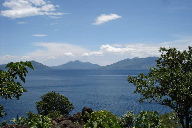 The Flores Strait with the islands of Adonara, Lembata and Solor