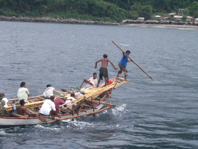Traditional whaling at Lamalera