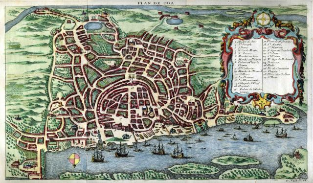 06_Plan of the City of Goa,1750