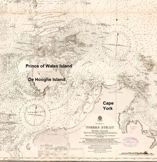 Endevour Strait