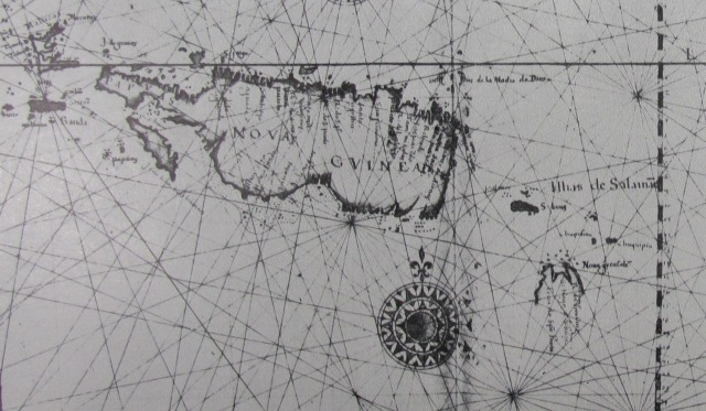Map of New Guinea from the 'Duchess du Berry Atlas' 1628?