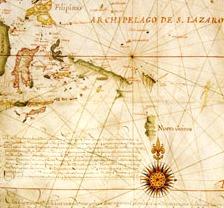 Detail from Hessel Gerritsz map 1622
