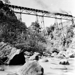 The Cisomang Trestle Bridge from the early 1900's