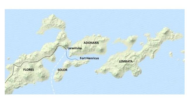 Larantuka Map