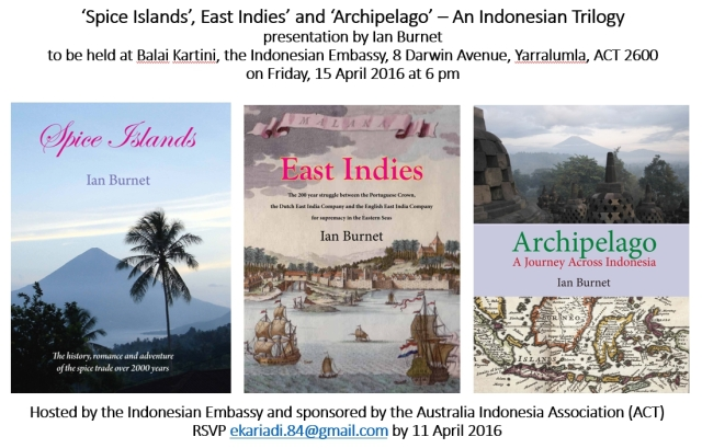 Spice Islands, East Indies and Archipelago