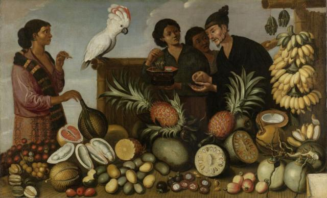 Rijksmuseum_Indonesian Market_Cockatoo