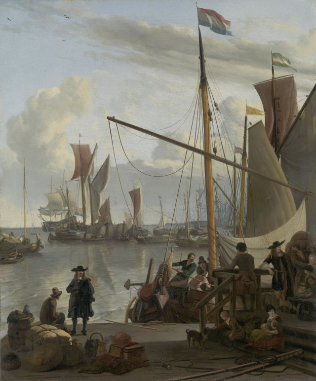 Ludolf Bakhuizen_The_Y_at_Amsterdam_viewed_from_Mussel_Pier
