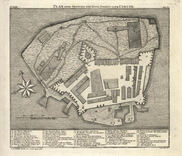 AMH-7034-KB_Map_of_the_island_of_Onrust_off_the_coast_of_Batavia