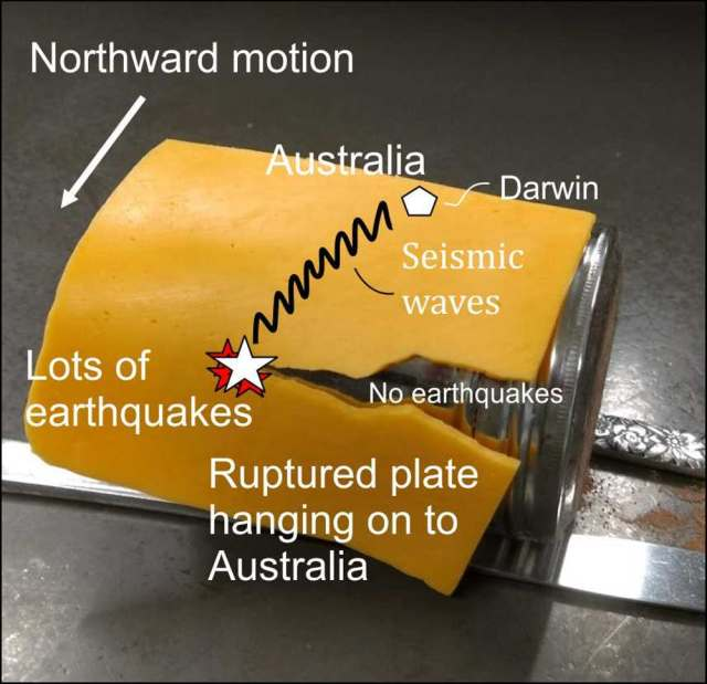 darwin earthquake