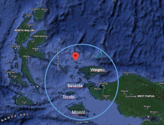 The Rajah Empat Islands