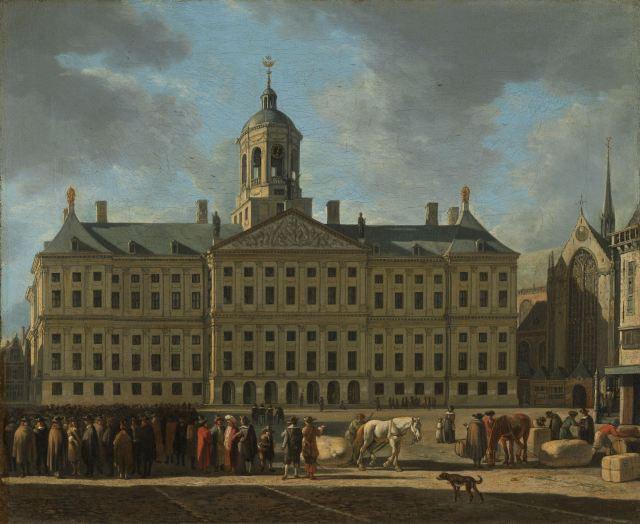 62 Dam Stadhuis, Gerrit Berckheyde, 1672, Rijksmueum