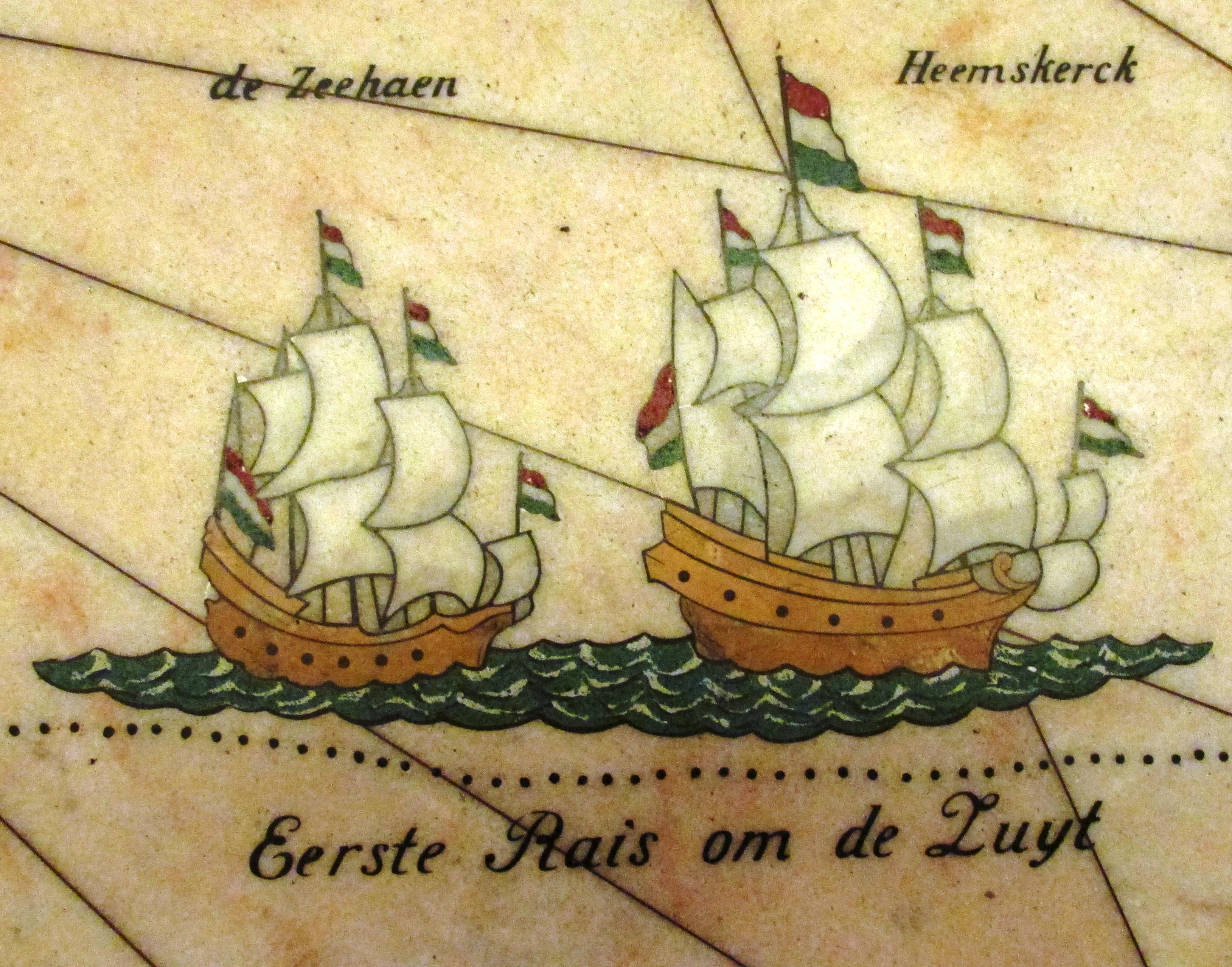 70 The Heemskerck and Zeehaen